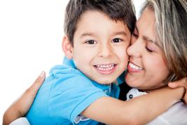 bigstock_sweet success testimonial_1-mother-son-white background-33089975